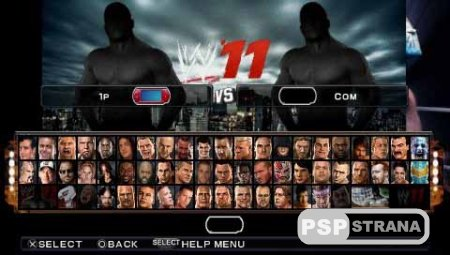 WWE 11 Reloaded Release (2012) (PSP/Eng)