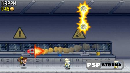 Jetpack Joyride + 50K points (2013) (PSP/ENG)