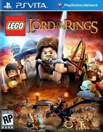 LEGO: The Lord of the Rings выходит на PS Vita и PS3