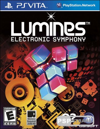 Lumines Electronic Symphony для PS Vita