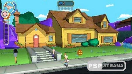 Финес и Ферб Покорение 2-го Измерения / Phineas and Ferb Across the 2nd Dimension (PSP/RUS)