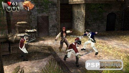 Игра Пираты Карибского моря: На краю Света / Pirates of the Caribbean: At World's End (PSP/RUS) [RUSSOUND]