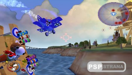 Snoopy vs The Red Baron (PSP/RUS)
