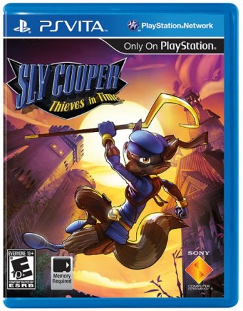 Sly Cooper: Thieves in Time для PS Vita