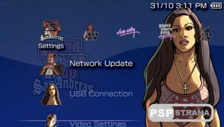 11 тем GTA (PTF/RUS) для PSP