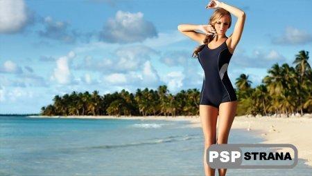 Обои PS Vita Beach Babe