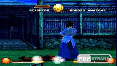 Samurai Shodown Warriors Rage (2000/RUS/PSX)