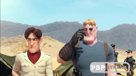 Тэд Джонс и Затерянный город 3D / Las aventuras de Tadeo Jones (2012)  HDRip