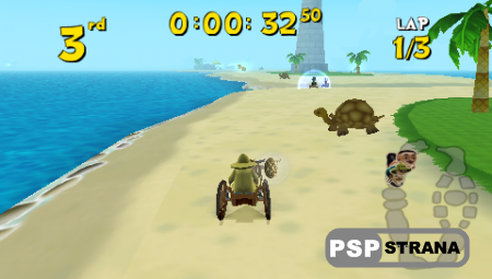 Cart Kings (PSP/ENG)(2013)