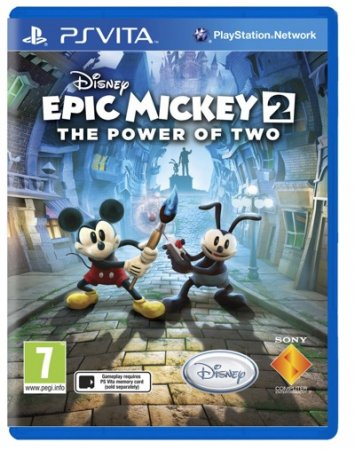 Epic Mickey 2: The Power of Two анонсирован для PS Vita