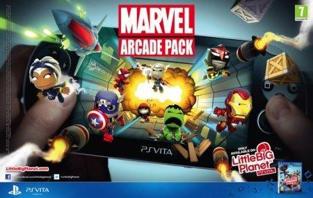 Marvel — Arcade Pack: эксклюзивное дополнение к LittleBigPlanet PS Vita
