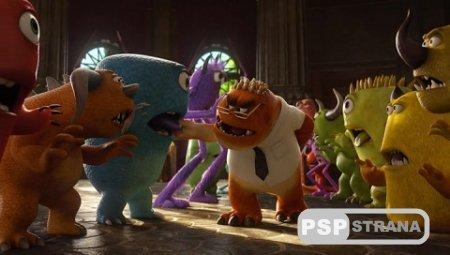 Университет монстров / Monsters University (2013) HDRip