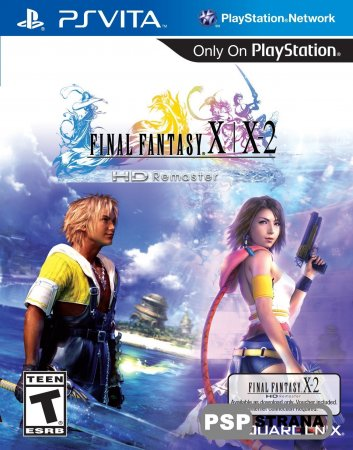 Final Fantasy X/X-2 HD Remaster для PS Vita