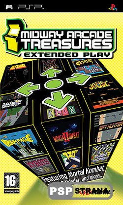 Midway Arcade Treasures: Extended Play (2006/ENG/PSP)