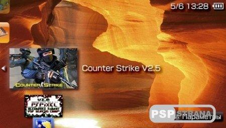 Counter-Strike 2.5 3D (2010/ENG/PSP)