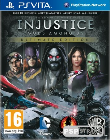 Injustice: Gods Among Us Ultimate Edition для ПС Вита)