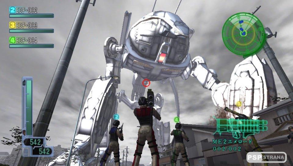 Earth Defense Force 2017 Portable