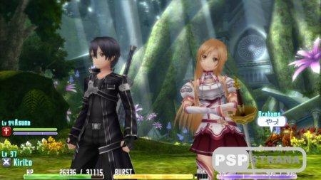 Релиз Sword Art Online: Hollow Fragment в Европе
