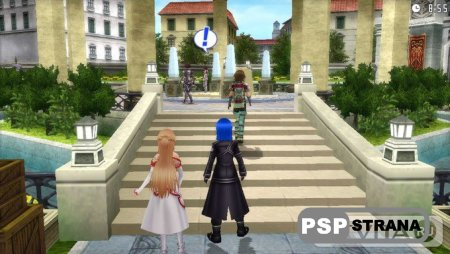 Новые скриншоты Sword Art Online: Hollow Fragment