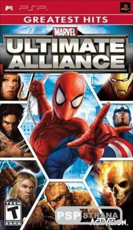Marvel Ultimate Alliance (v2) (Greatest Hits) [ENG][FULL][ISO][2014]