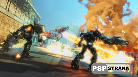 Трансформеры: Битва за Темную Искру (PS3)
