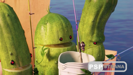 Облачно... 2: Месть ГМО / Cloudy with a Chance of Meatballs 2 (2013) HDRip