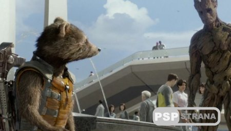 Стражи Галактики / Guardians of the Galaxy (2014) HDRip