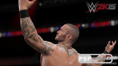 WWE 2K15 на PS3