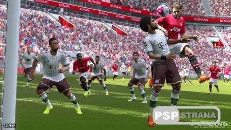 Pro Evolution Soccer 2015 на PS3
