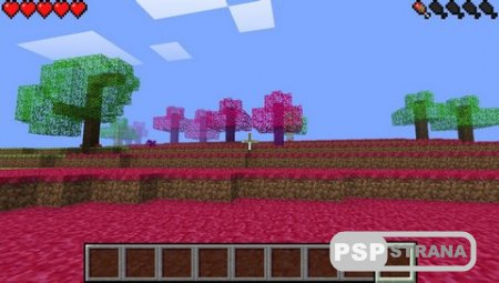 Minecraft PSP [Charged Mod] v 1.1.3 [HomeBrew][2015]