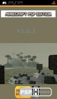Minecraft PSP Edition v1.2.1 [Slim/Fat][HomeBrew][2015]