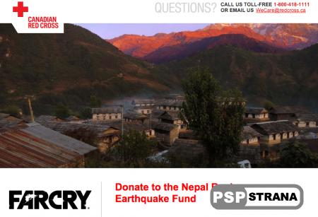 Создали Far Cry 4 пожертвуют 100.000 долларов непальцам, пострадавшим от катаклизма