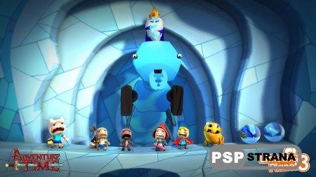 Новый аддон для LittleBigPlanet 3 приносит костюмы героев из Adventure Time