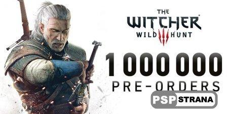 Более миллиона геймеров предзаказали The Witcher 3