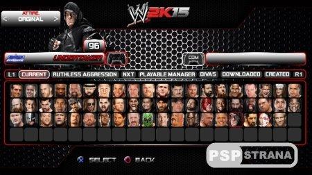 WWE 2K15 для PS4