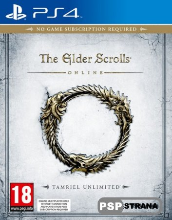 The Elder Scrolls Online: Tamriel Unlimited для PS4