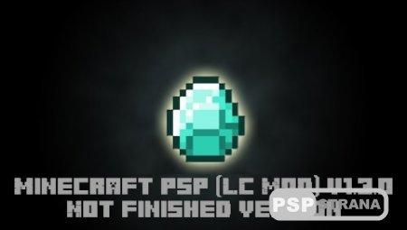 Minecraft PSP (LC Mod) v1.3.0 [Not Finished][HomeBrew][2015]