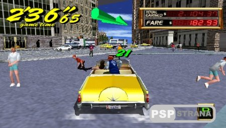 Crazy Taxi: Fare Wars (v2) [ENG][FULL][ISO][2010]