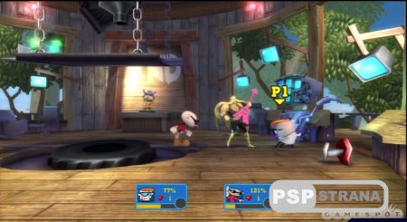 Cartoon Network: Punch Time Explosion XL для PS3