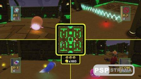 Пакман в мире привидений на PS3