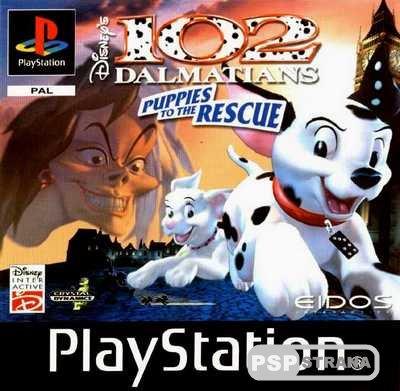 [PSX-PSP]102 Dalmatians: Puppies to the Rescue [RUS][FULL][2000]