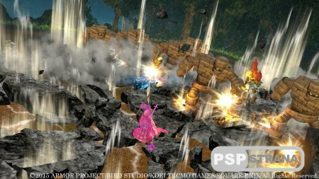Dragon Quest Heroes: The World Tree's Woe and the Blight Below для PS4