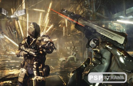 Deus Ex: Mankind Divided для PS4
