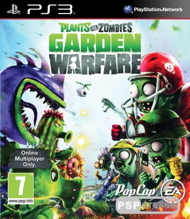 Plants vs. Zombies Garden Warfare на PS3