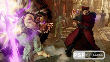 Street Fighter для PS4