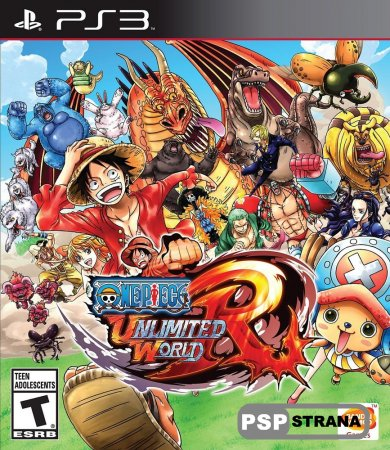 One Piece: Unlimited World Red для PS3