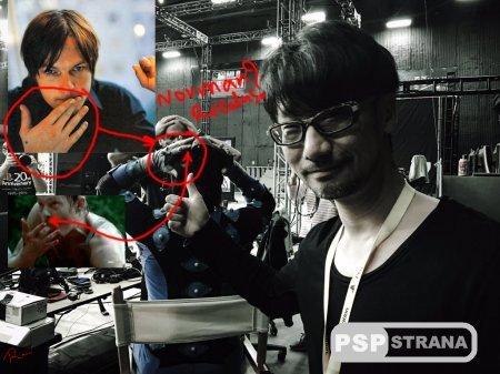 Кодзима спрятал лицо Нормана Ридуса на самом видном месте