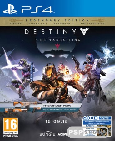 Destiny: The Taken King. Legendary Edition для PS3