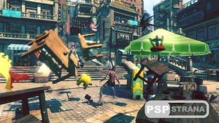 Разработчики Gravity Rush 2 показали новый трейлер и кадры из игры