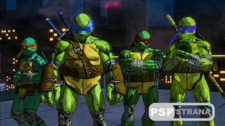 Teenage Mutant Ninja Turtles: Mutants in Manhattan для PS4